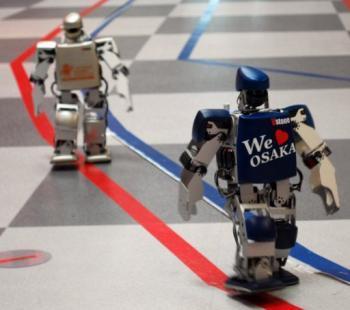 Des petits robots bipèdes en piste pour un marathon de quatre jours au Japon | Mais n'importe quoi ! | Scoop.it