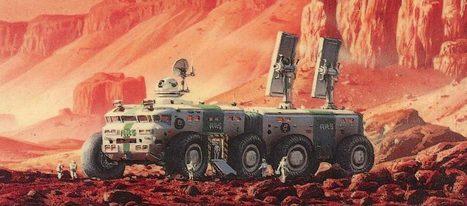 Missões tripuladas a Marte? Para já existem as de ler… (1) | Ficção científica literária | Scoop.it