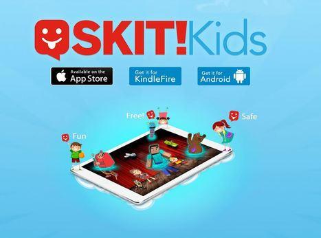 Skit: créer des histoires animées par glisser déposer sur Android et iPad | Le propulseur de Ticeman | Apps for EFL ESL | Scoop.it