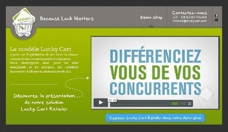 [La France a d'incroyable start-up] Lucky Cart | 1001 StartUps | Start-Up | Scoop.it
