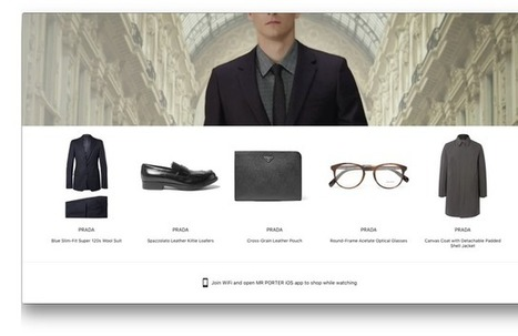 Mr Porter Launches Shoppable App on Apple TV I WWD | ECOMMERCE | Scoop.it