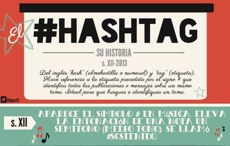 La completa historia del hashtag en una infografía en castellano   HIPERTEXTUAL   Scoop.it