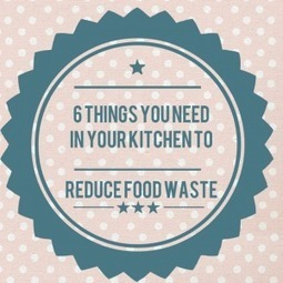 6 Things You Need In Your Kitchen To Reduce Food Waste | Food and Agriculture | Scoop.it