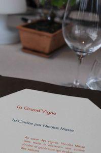 Nouveau dîner exceptionnel chez Nicolas Masse, aux Sources de Caudalie - Assiettes gourmandes, le blog de cuisine de Chantal | Votre branding en IRL | Scoop.it