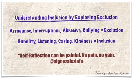 Understanding Inclusion by Exploring Exclusion | Education, Curiosity, and Happiness | Scoop.it