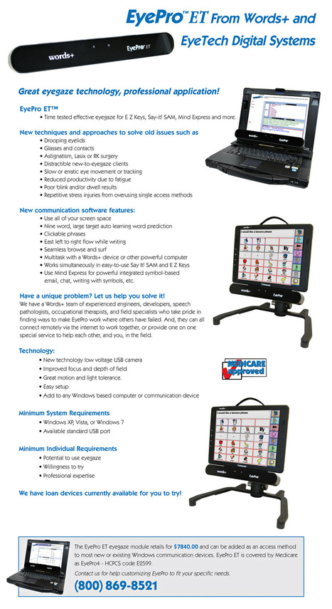 Words+ Leader in Augmentative Communication Devices | AAC Access: Tools & Strategies | Scoop.it