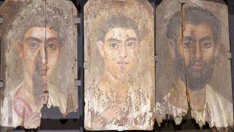 Unusual use of blue pigment found in ancient mummy portraits | LVDVS CHIRONIS 3.0 | Scoop.it