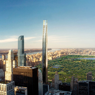 SHoP Architects design skinny skyscraper for New York - Dezeen | design & technology | Scoop.it