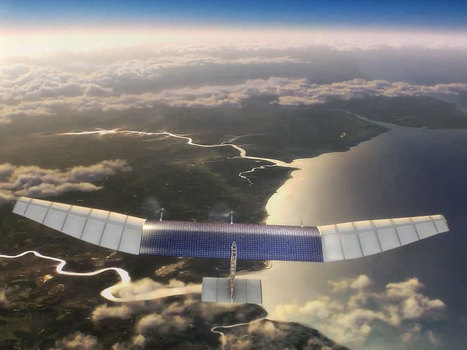 Facebook Lays Out Its Roadmap for Creating Internet-Connected Drones   WIRED   The Robot Times   Scoop.it