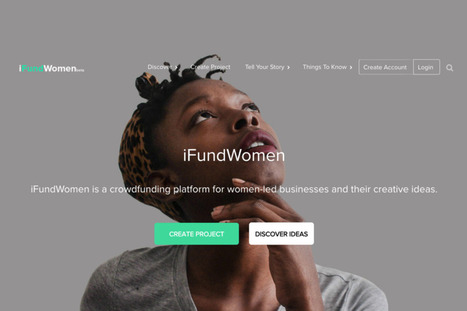 Now There's a Women-Only Crowdfunding Platform | Women's equality | Scoop.it