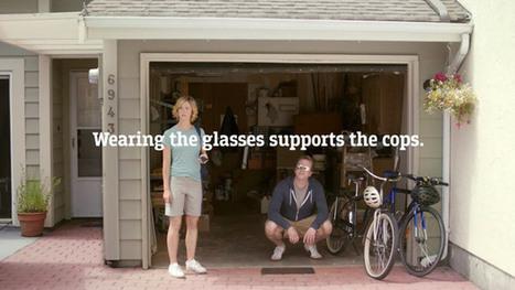 Ces lunettes ne font pas de vous un policier | Humour et Marketing | Scoop.it