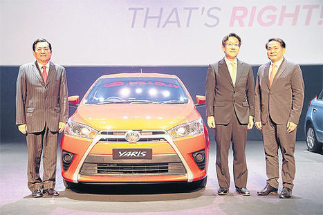 Toyota declares eco-car goals, rolls out all-new Yaris model | Bangkok Post: auto | Thai & Indonesia auto | Scoop.it