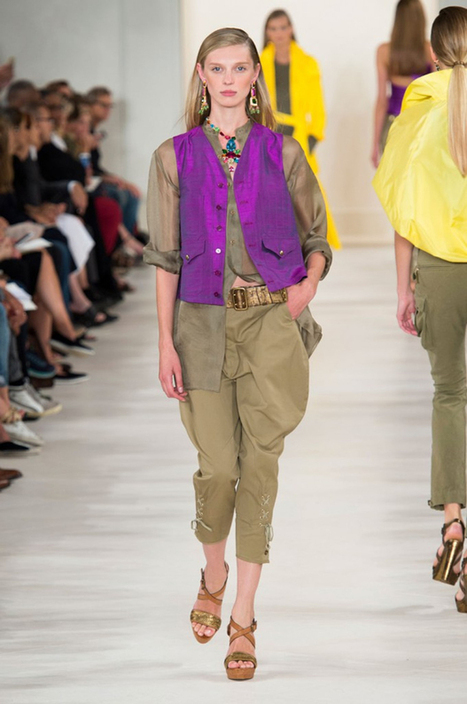Equestrian Style Hot Off the Catwalks – SS15 Roundup - Equestrian Vogue | Fun with Horses | Scoop.it