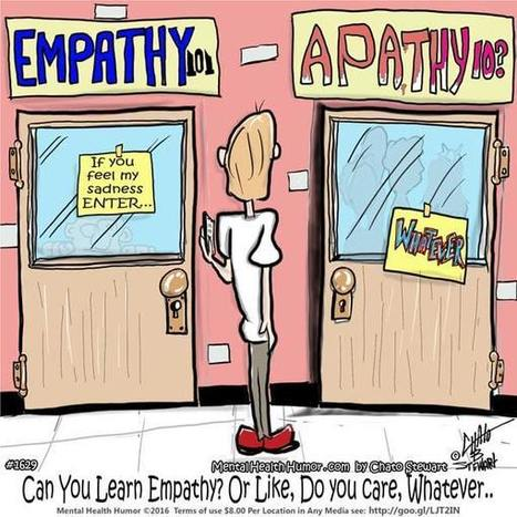 Empathy Vs Sympathy Or Apathy: Can Adults Learn Empathy? | Empathy and Compassion | Scoop.it