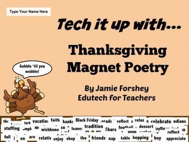 Have Some Fun with Thanksgiving Magnetic Poetry! | reading | Scoop.it