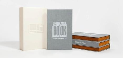 Drinkable Book : un livre dont les pages permettent de purifier l'eau contaminée | Innovations urbaines | Scoop.it