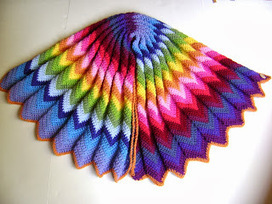 Creative Designs by Sheila Zachariae: Technicolor Blanket and A Little Lesson in Color | crochet | Scoop.it