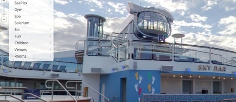 Google's StreetView sets sail on Royal Caribbean's Quantum of the Seas | Hospitality Technology | Scoop.it