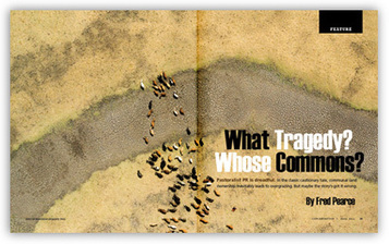 What Tragedy? Whose Commons? | Conservation Magazine | This Gives Me Hope | Scoop.it