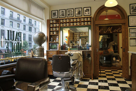 10 Authentic Vintage Barber Shops in NYC | iMOVIEi - MOVIES ・LOCATIONS・BUSINESSES・PEOPLE | Scoop.it