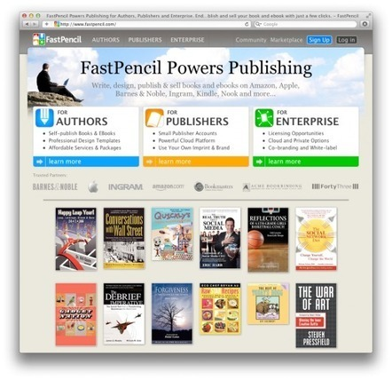 Self-publishing platform FastPencil inks partnership with Barnes & Noble | Get to Writing | Scoop.it