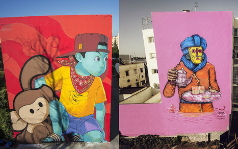 Le street art envahit Rabat (photos) | 694028 | Scoop.it
