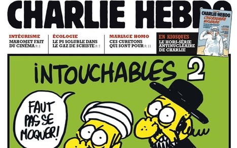 French magazine risks Muslim ire with Mohammed cartoons - Telegraph.co.uk | The Indigenous Uprising of the British Isles | Scoop.it