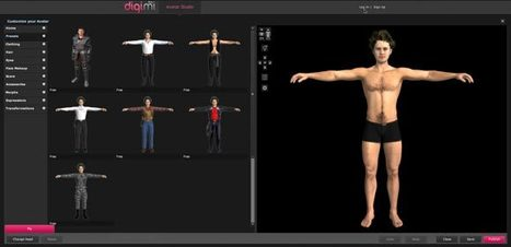 Créer votre avatar en 3D | Time to Learn | Scoop.it