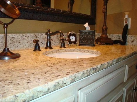 Some Things about Bathroom Granite Countertops | Home Design | Scoop.it