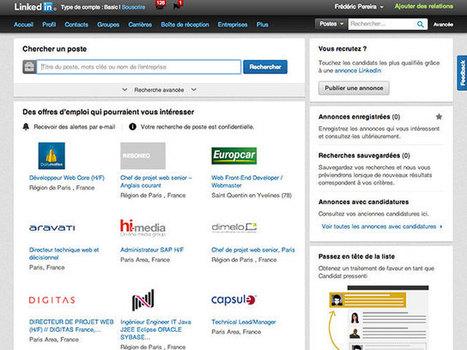 LinkedIn Carrières : la recherche d'emploi débarque sur LinkedIn | Time to Learn | Scoop.it