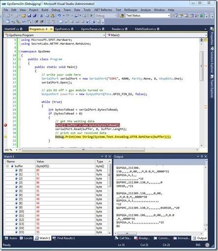 GPS using the Netduino - CodeProject   Arduino, Netduino, Rasperry Pi!   Scoop.it