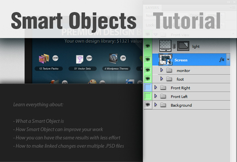 Keep Your Photoshop Work Editable With Smart Objects | Photoshop and Lightroom | Scoop.it