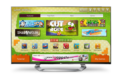 LG Unveils 3D TV Game Portal - PC Magazine | 3D Curious & VFX | Scoop.it