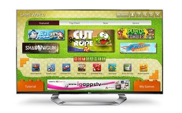 LG announces Game World for CINEMA 3D Smart TV line - SlashGear | Machinimania | Scoop.it