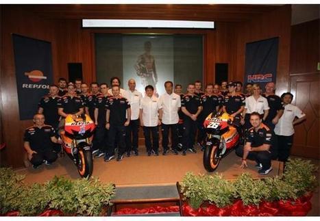 Repsol Honda Team presentation | MotoGP World | Scoop.it