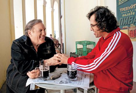 La première de Gérard Depardieu dans une série russe pour les ados   Médias en Russie   Scoop.it