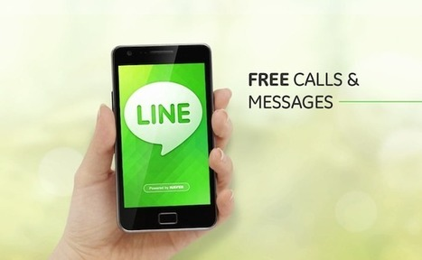 Line, le réseau social qui va faire trembler Facebook & Twitter | Digital Martketing 101 | Scoop.it