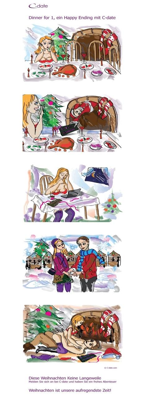 Mein Weihnachtswunsch: ein Casual Date - was Frauen sich an Weihnachten und Neujahr wirklich wünschen | C-Date Studie – Casual Dating, Sex und Beziehungen | Scoop.it