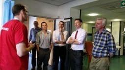 Health Secretary Jeremy Hunt visits Royal Sussex County Hospital in Brighton | Brighton and Hove News | Brighton and Sussex University Hospitals NHS Trust | Scoop.it
