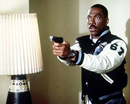"Celebrity for the World: Eddie Murphy is in the small screen adaptation of ""Beverly Hills Cop"" 