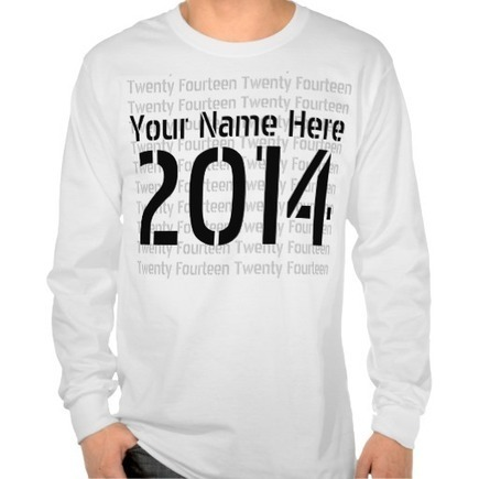 Senior 2014 - Class of 2014 T-shirts from Zazzle.com | Style | Scoop.it