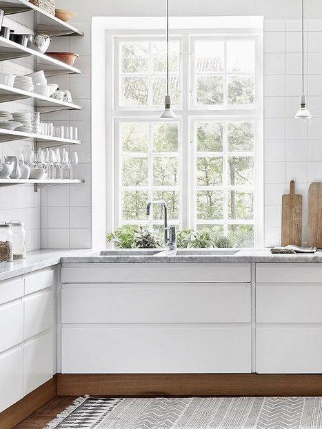 Cottage moderne : miser sur le bois et…le blanc ! | décoration & déco | Scoop.it