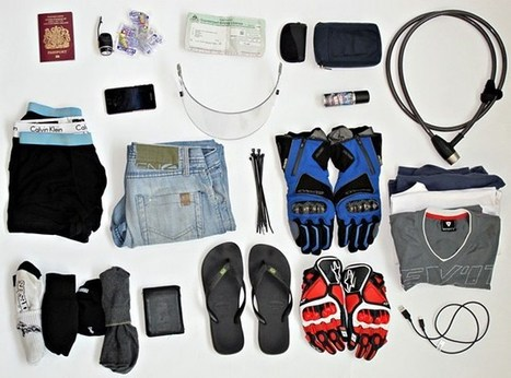 Performance Touring: How to pack light | Motorcycle Mania | Scoop.it
