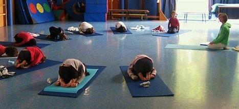 Au yoga pour enfants, « on soupire, on baille, on se détend » - Ouest-France   Baby Grimp   Scoop.it