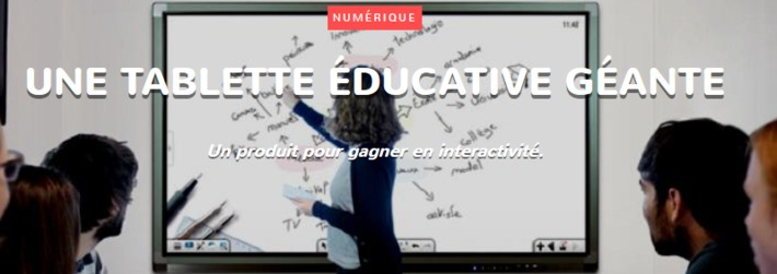 Une tablette éducative géante | TIC et TICE mais... en français | Scoop.it