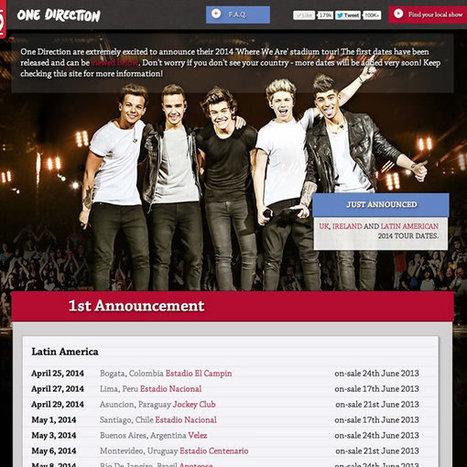 One Big Announcement | 2014 'Where We Are' Stadium Tour | #1bigannouncement | Música | Scoop.it