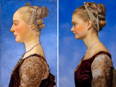 The New New World, Renaissance Portraits Recreated as Photos | Histoire des Arts au collège | Scoop.it