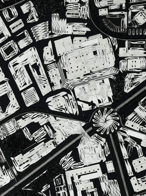 These City Maps Are Made Out of Razor Blades and Mirror Shards | AP HUMAN GEOGRAPHY DIGITAL  STUDY: MIKE BUSARELLO | Scoop.it