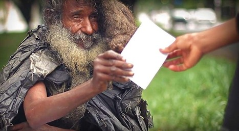 Poet Living On The Streets Found By His Family | Feeling Better About Life | Scoop.it