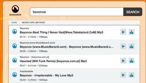 Grooveshark Defiantly Resurrected By a Rogue Pirate | News we like | Scoop.it